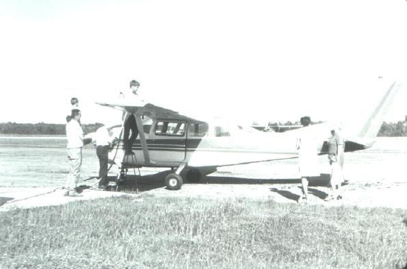 Duncan's plane 1968