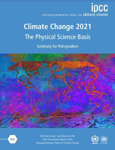 IPCC AR6 WG1 SPM